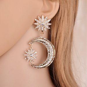 🌙 New list! ⭐️ Boho moon and star earrings